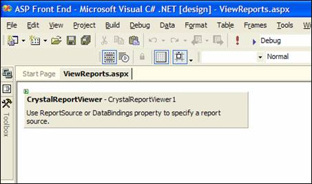 Crystal Reports  NET - Previewing with a Windows Form